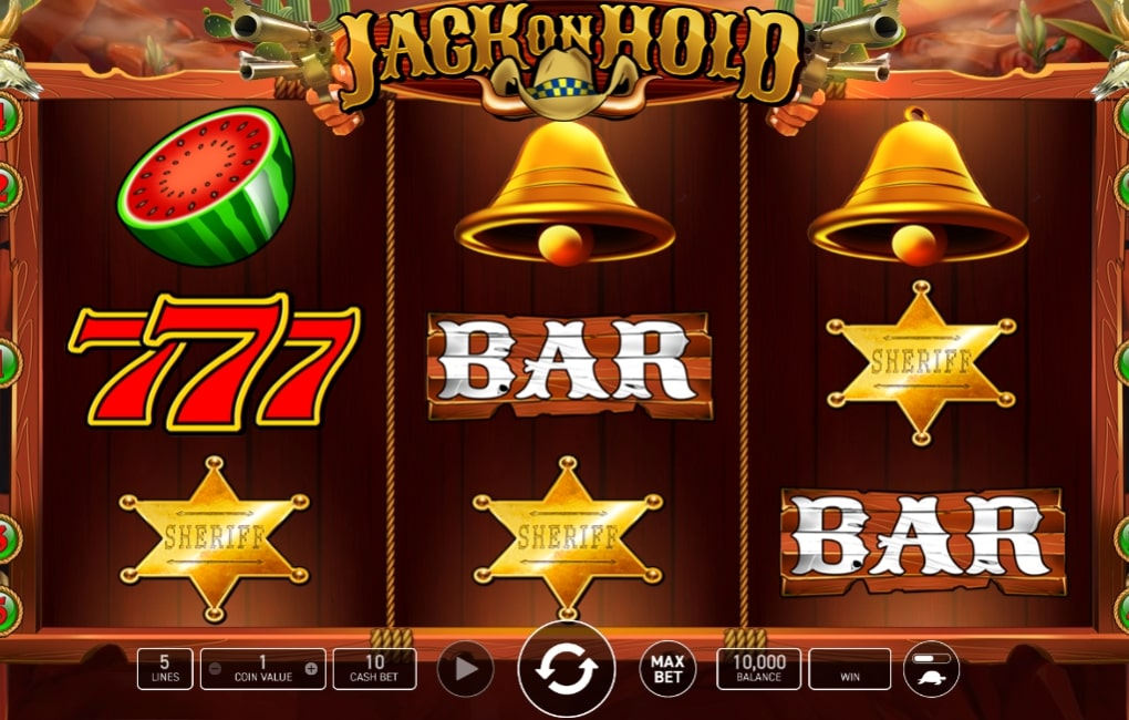Jack on Hold Slot