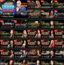 live dealers Energy Casino